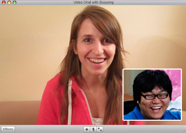 Skype English lesson with Korean student